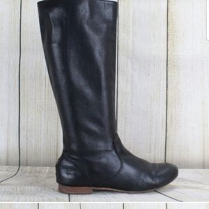 FRYE Jillian Pull-on Side Zip Mid Calf Boots Sz 8